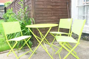 For al fresco dining in the summer months.