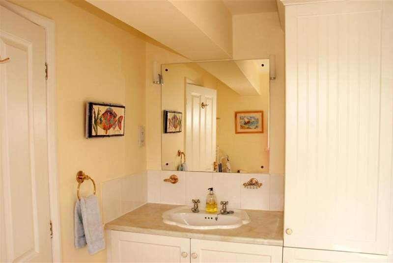 The family bathroom is also on the first floor