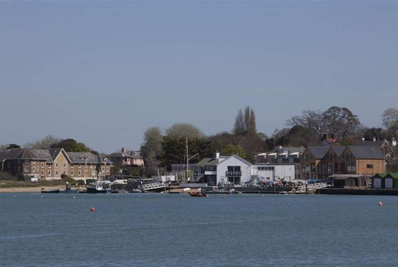Bembridge Harbour where there is always plenty going on