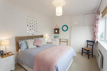 The main bedroom that overlooks the sea, from a different angle