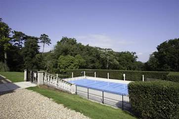The pool is communal, heated and open from May to September each year