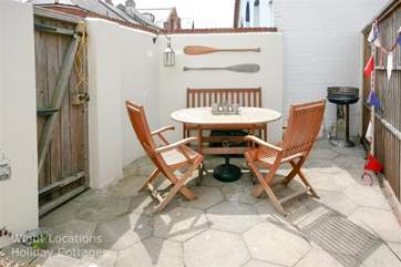 Your own private courtyard.