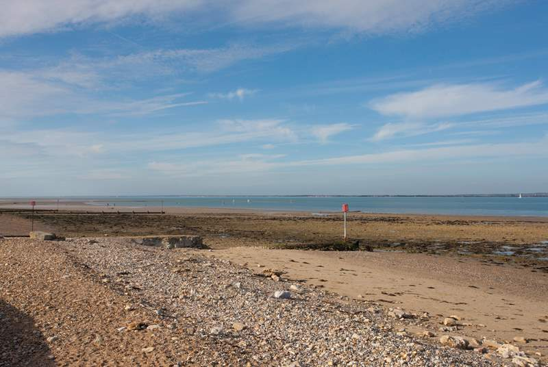 Take a beautiful scenic stroll along the seafront to the nearby town of Ryde