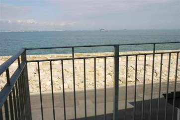 Great spot for watching the ships come and go through the Solent