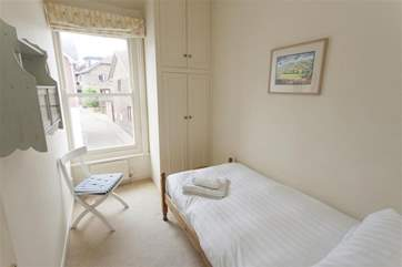 Single bedroom facing out onto Pier Road on first floor