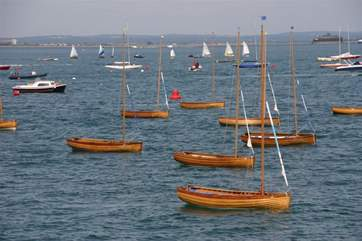 Mermaids are little wooden sailing boats that were designed for the Seaview sailing club back in the day