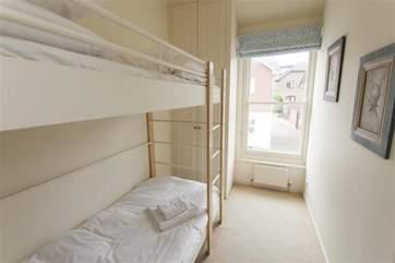 Bunk bedroom on the first floor