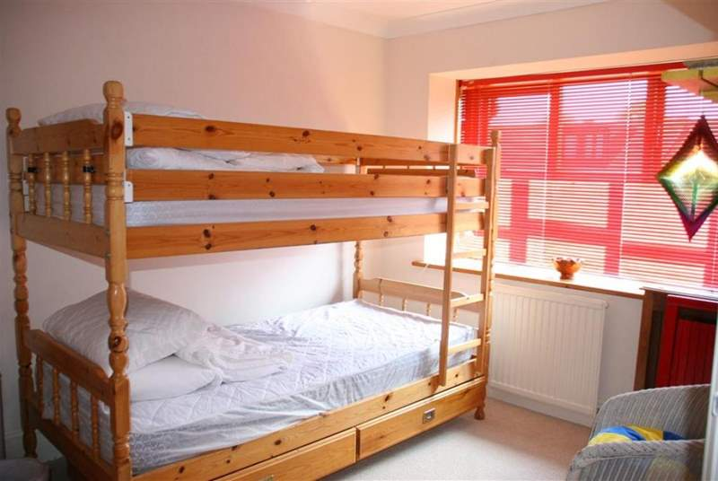 Lovely sunny bunk bedroom on the first floor