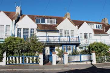 6 Seafield Terrace is in a row of period Victorian style beach cottages