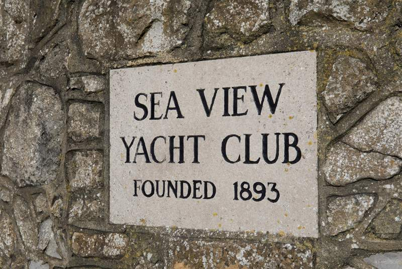 The iconic Yacht Club aroudn the corner from 6 Seafield Terrace.