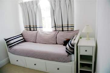 Single bedroom on the first floor
