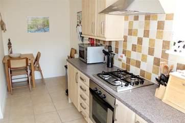 Little breakfast area in the kitchen