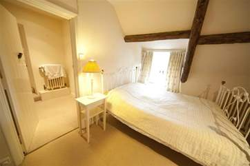 Family bedroom with rural views with both a double and a day bed, ideal for younger families