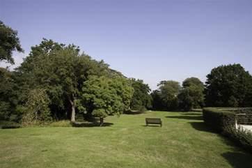 Enjoy a stroll around the grounds