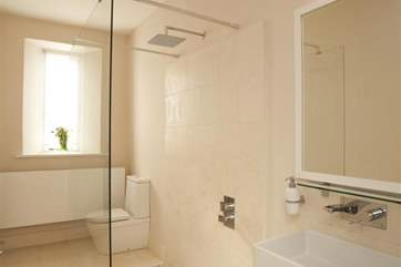 One of the many large, modern bathrooms on offer.