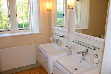 Another bathroom, another view.