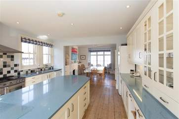 You will find literally everything you could possibly need in this beautiful, large, fully equipped kitchen