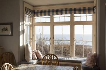 Enjoy a coffee and the views before the rest of the house wakes up from this peaceful spot