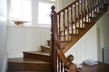 Lovely large staircase to the first floor