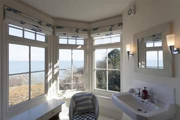Just look at the views from this bathroom!