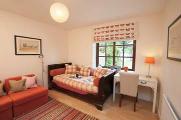 The snug is a lovely additional room to relax in, put your feet up and to take 5 quiet minutes to yourself