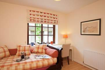 Write a postcard to friends and family back home telling them all about your fabulous stay in Cluniac Cottage