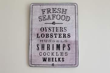 Enjoy some seafood whilst on holiday in many of our famous seafood restaurants