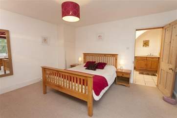 8 hours sleep with be easily achieved in this comfortable double bedroom