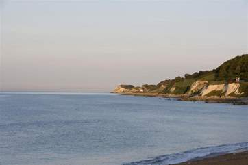 Take a stroll along the seafront through the beautiful Victorian Ventnor Park