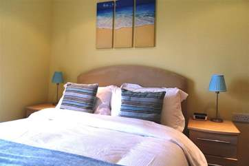 The apartment offers three double bedrooms