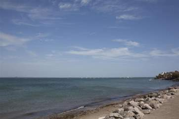 Enjoy a great costal walk to the nearby town of Ryde