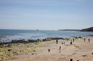 Seaview beach is ideal for a day down the beach, rock pooling or on a romantic stroll.