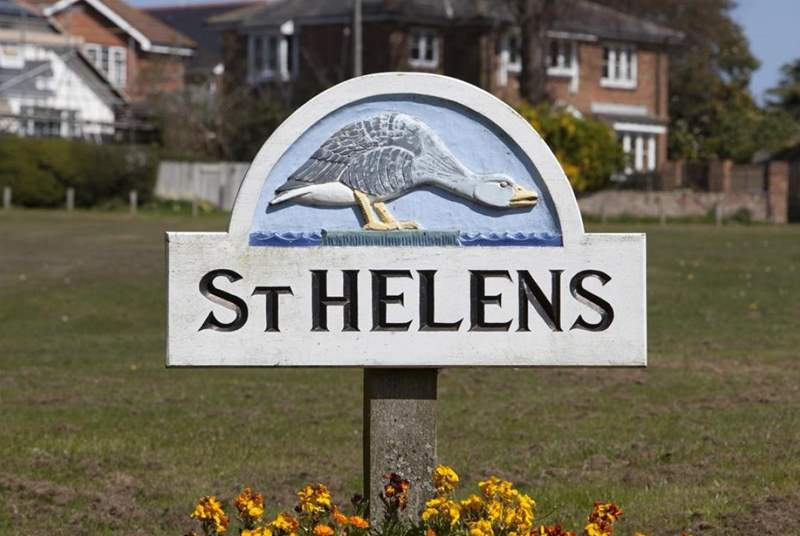 Located in the small village of St Helens.
