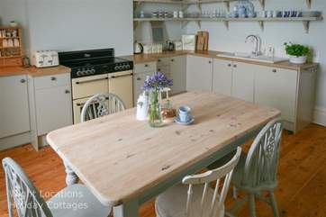 Kitchen with dining- table