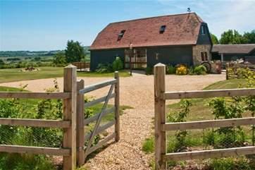 Gateway to Hill Farm Barn