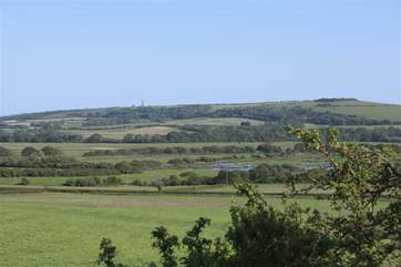 The property is surrounded by rural Views