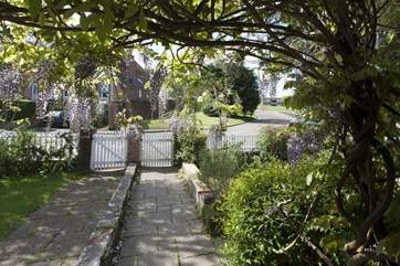 Front Garden leading onto Ryde Road, Seaview