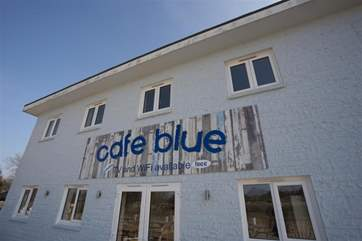 The on site Cafe Blue has recently opened for guests use