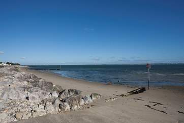 Seaview is home to beautiful beaches with far reaching views over to Portsmouth