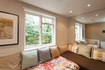 The snug is a little sanctuary which is great for relaxation and some quiet time to enjoy a book or a peaceful few moments