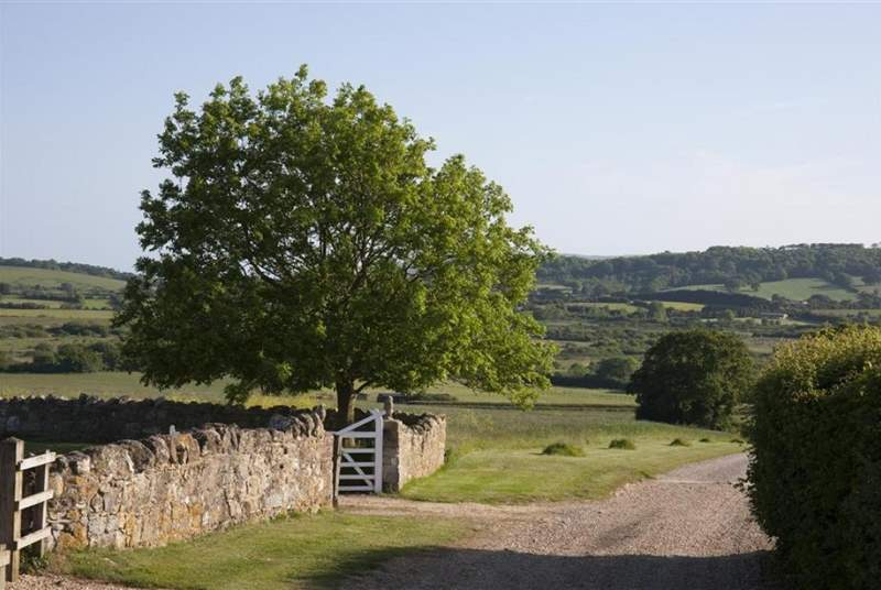 Located in quiet rural setting for surrounding views of countryside