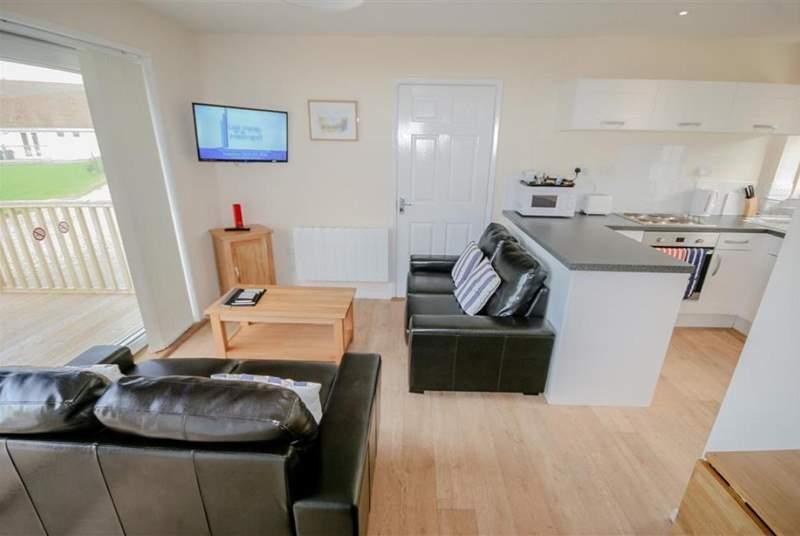 Living area_Little Egret Cottage