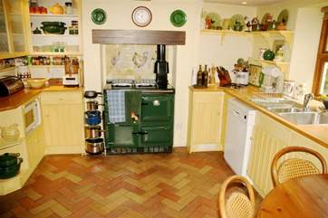 Traditional Kitchen with Aga
