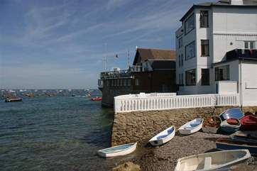 Public slipway and Seaview Yacht club
