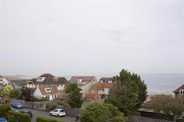 Views of the Solent from Bedrooms
