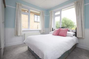 A second double bedroom features a double aspect view.
