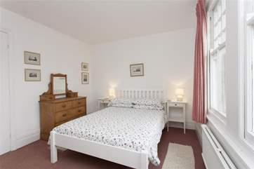 The second double bedroom is light, airy and again very peaceful
