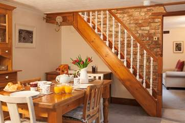 Enjoy a lovely traditional english breakfast at this traditional cottage