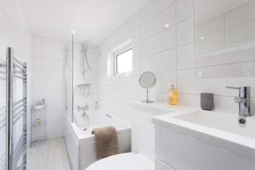 The modern bathroom is a lovely sanctuary for a relaxing bubble bath or hot morning shower
