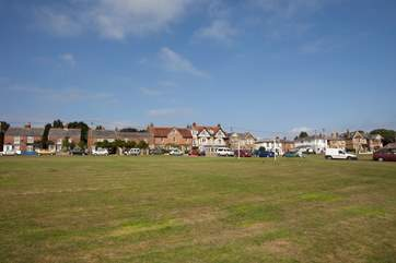 St Helens is home to the second largest village green in England
